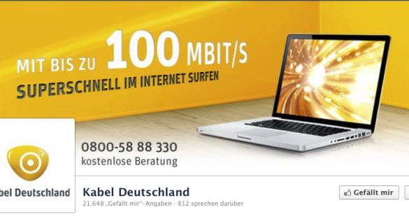 Kabel Deutschland - Unerwünschte Werbung