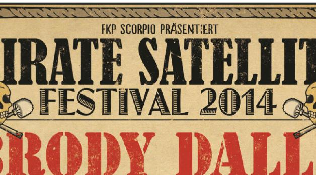 Pirate Satellite Festival 2014 Hamburg Flyer