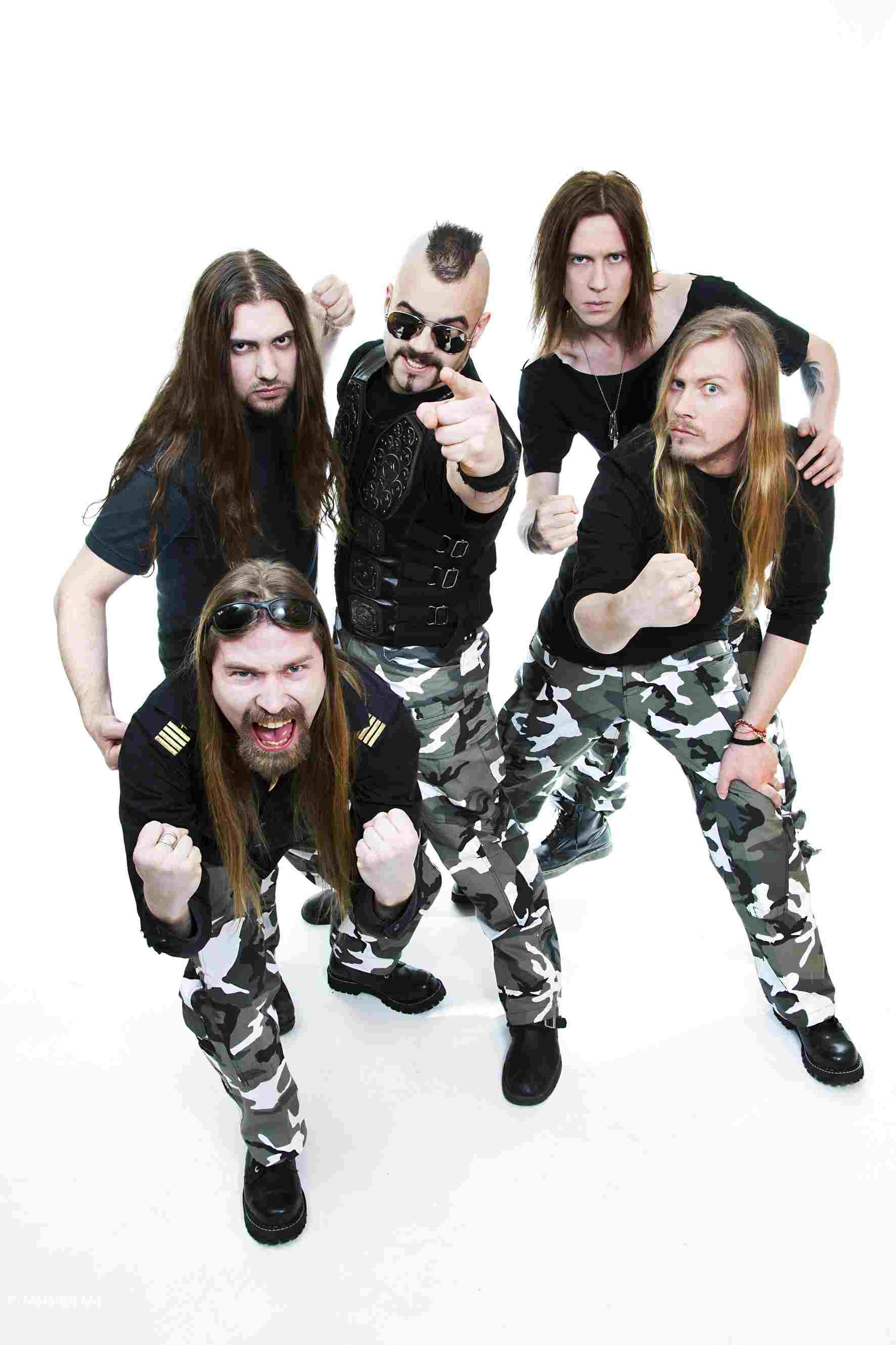 Sabaton - Photo by Michael Johansson