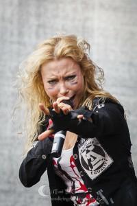 Arch Enemy Live @ Devil Side Festival 2012