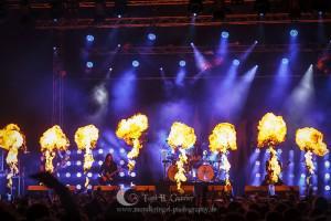 In Flames Live @ Devil Side Festival 2012