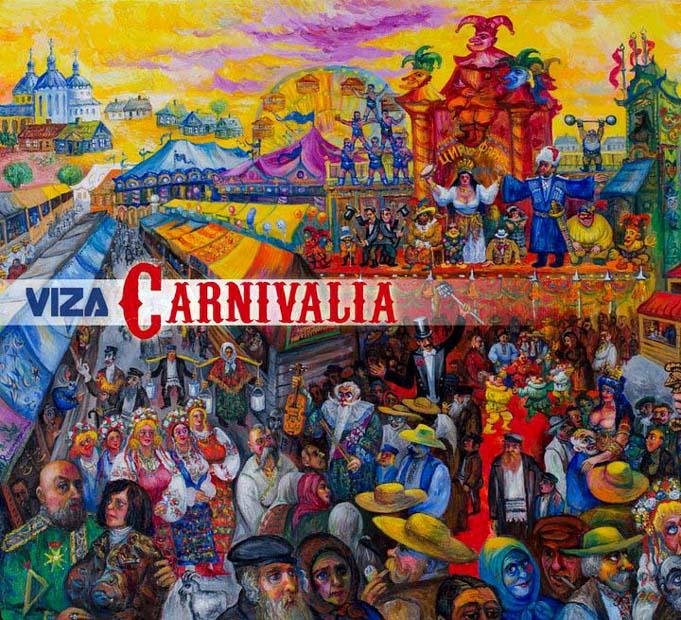 Viza mit Carnivalia Cover