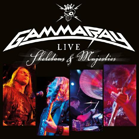 GAMMA RAY mit Skeletons & Majesties Live