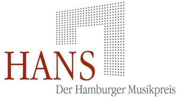 Logo des Hamburger Musikpreises - HANS