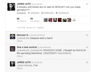 Twitter Screenshot Jared Leto