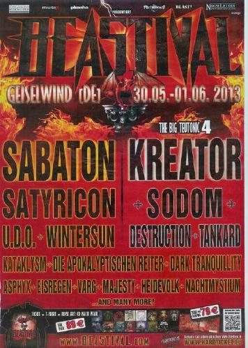 Bestival 2013 Flyer