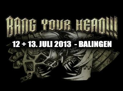 Bang Your Head 2013 Logo