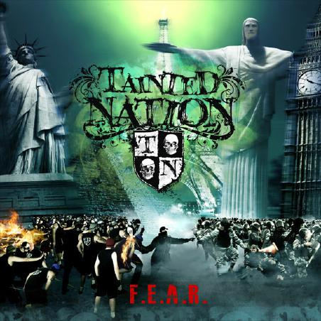 Tainted Nation - FEAR Cover
