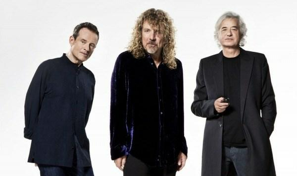 Led Zeppelin Pressefoto © Warner Music