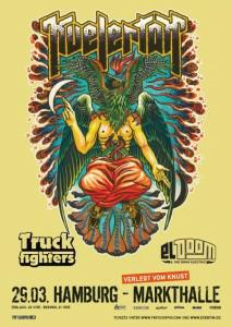 Kveletak Tour Flyer 2013