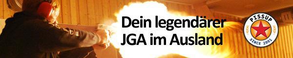 JGA im Ausland feiern mit PissUp