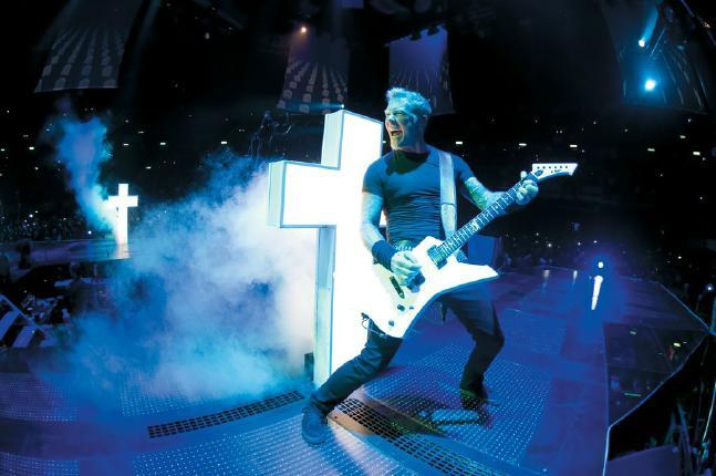 James Hetfield in seinem Element © 2013 Ascot Elite Filmverleih GmbH