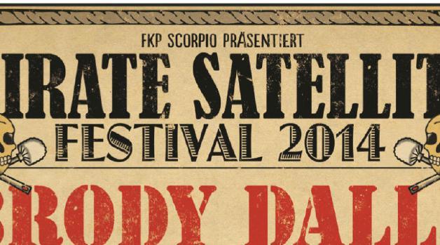 Pirate Satellite Festival 2014 Hamburg Flyer